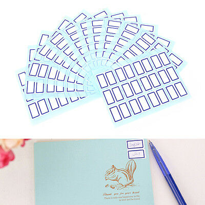 Self Adhesive Sticky White Label Writable Name Stickers Blank Note Labels  tb