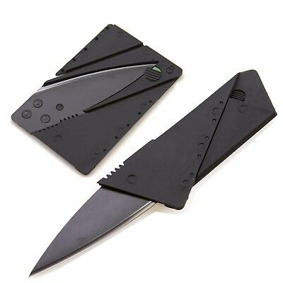Credit Card Thin Knives Cardsharp Wallet Folding Pocket Micro Knife new USA SHIP