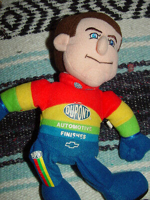 Jeff Gordon #24 Dupont Automtive Finishes Bean Plush Doll