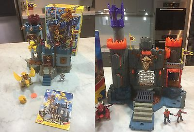 Fisher Price Imaginext Bravemore Castle and Dragomont's Fortress Playset in Box