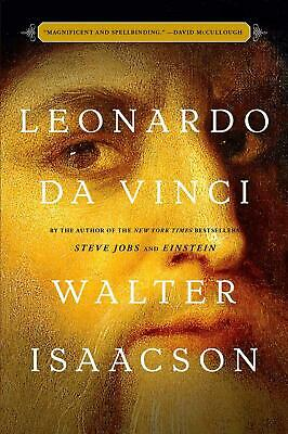 Leonardo da Vinci by Walter Isaacson (English) Hardcover Book Free Shipping!