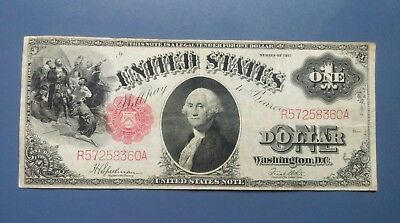 1917 One Dollar U.S. Large Note Currency