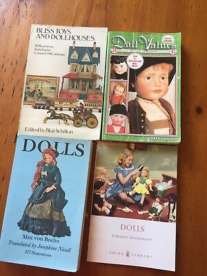 4 Collectable Doll Books In Great Condition