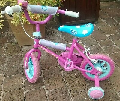 Fifi and the flowertots childs bike with stabilisers cash on collection Barnsley