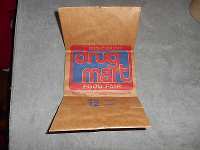 Discount Drug Mart Paper Bag