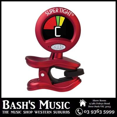 Snark WST2 Super Tight Chromatic Clip On All Instrument Tuner