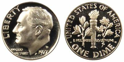 1977-S Gem Proof Roosevelt Dime 10c