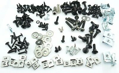 Mega Set Kit Screws Fairing Bolts Piaggio Mp3 250 Maxi Scooter + Clips - 168 Pcs
