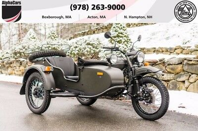 2017 Ural Gear Up 2WD Forest Fog Custom  RARE COLOR Updated Model Loaded 2WD Reverse Gear Financing & Trades