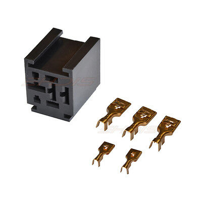 Milageto 6X 80A Pin Relay Motor Vehicle Terminals 5 for High Intensity Applications