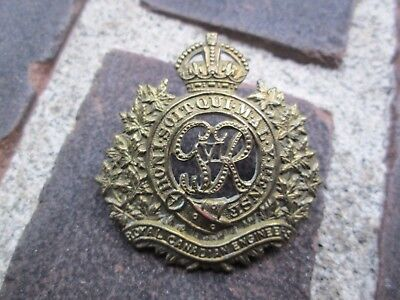WWII KC Royal Canadian Engineers Badge