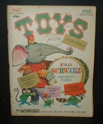 1968 FAO Schwarz Christmas Toy Catalog Toys.. Dolls... Trucks.. Cars ..