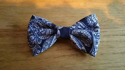 beautiful kid bow tie with alligator clip