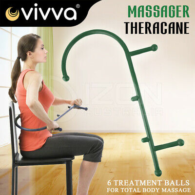 Theracane Trigger Point Therapy Self Massage Stick Muscle Deep Pressure