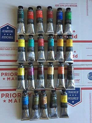 **BRAND NEW SENNELIER OIL PAINTS LOT OF 23** 40ml HIGH SERIES 4-6
