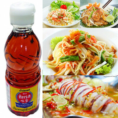 Nam Pla Tiparos Fish Sauce Fermented Anchovy Cooking & Dipping/Condiment Sauce