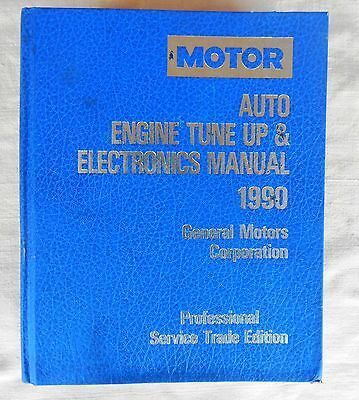 1990 Motor Auto Engine Tune up Electronics Repair Manual GMC Service Chevy Ford