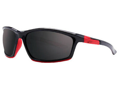 Greg Norman G4029 Performance Sunglasses - Black/Grey/Red