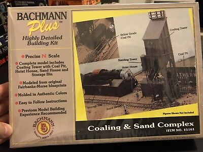 Bachmann Plus N Scale Model Train Layout Coaling And Sand Complex Kit