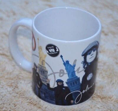 John Lennon Mug Peace and Freedom Statue of Liberty Live Nation