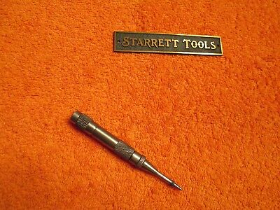 L.S. Starrett No.18AA Spring Loaded Automatic Center Punch.  Made in the USA.