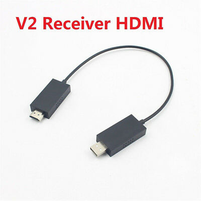 New For Microsoft Wireless Display Adapter V2 Receiver HDMI And USB Port Black