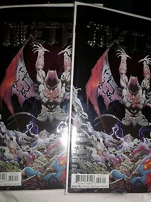 Dark Nights Metal 3 1St Print Foil Cover Capullo Batman  10/11😲low$-Free Ship☝☝