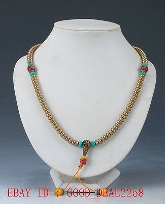 Beautiful Chinese  Handcraft Brass Necklaces XL027