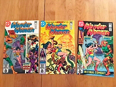 Wonder Woman w/Huntress backup stories #276-278 (Feb-Apr 1981, DC Comics)