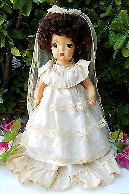 "Vintage Terri Lee Doll 16"" - Fully Jointed Plastic Painted - Gorgeous!"