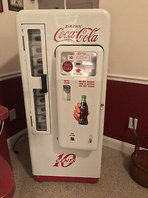 Antique Coke Machine-BEAUTIFUL