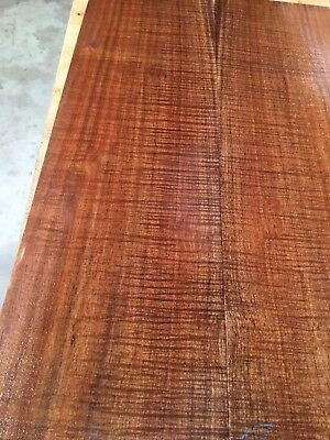 Fiddleback Blackwood Parlor Guitar Back And Sides . Luthier #1032