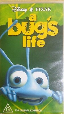 Disney Pixar A bugs Life VHS video movie as new