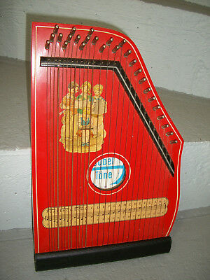 JUBEL TÖNE vintage ANCIEN CITHARE harfe zither INSTRUMENT harpe HARP old GERMANY