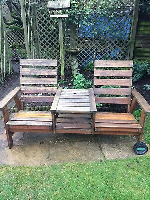 Garden Bench And Cover