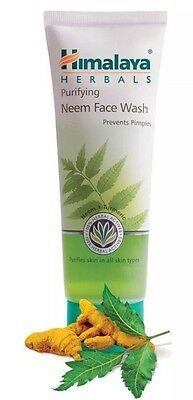 Himalaya Herbal Purifying Neem Face Wash 100 ml go away Pimples - Very Effective