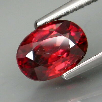 2.00Ct.Very Good Color! Natural Rich Pink Zircon Tanzania Full Fire&Eye Clean!