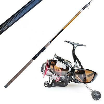 KP2859 Kit Tutto Fare Canna Bombarda Delta 4m 15-60gr + Mulinello Sunshine  FEU