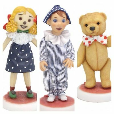 Watch With Mother andy pandy - teddy figure only  - robert harrop