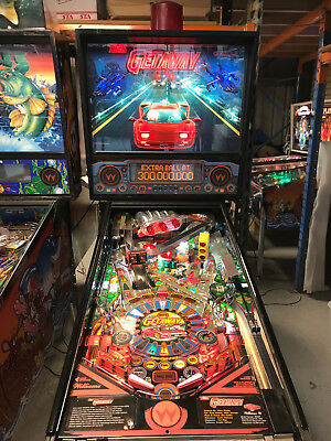Getaway Pinball Machine   Pinballking
