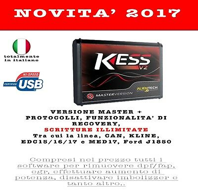 Kess V2 Master - Firmware 4.036 - Software 2.33 - Unlimited