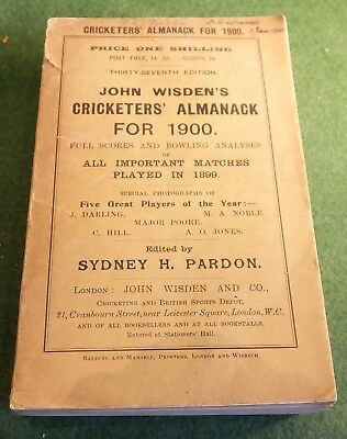 John Wisden's Cricketers' Almanack for 1900