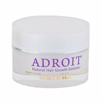 Omiera Labs Adroit - Hair Growth Inhibitor, Natural Hair Growth Inhibitor,