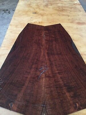 Master Grade Ringed Gidgee Guitar Back And Sides . Luthier #1037