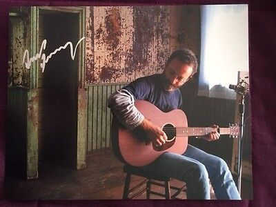 David Francey Autographed Signed Photo IP