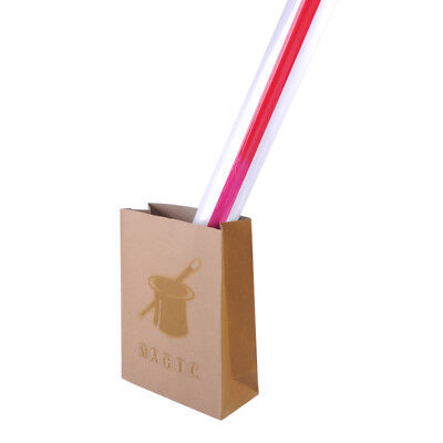 Appearing Big Drinking Straw 4 Foot Stage Street Quick Visual Magic Trick