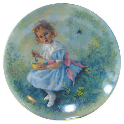 LIttle Miss Muffet by John McClelland Collector Plate Limited Edition.