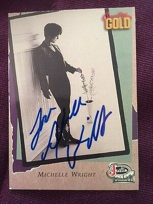 Michelle Wright Autographed Signed Country Gold Trading Card IP