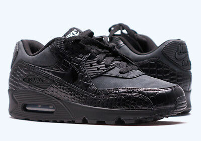 Nike Air Max 90 Prem 443817 003 Black Black Shoes For Women