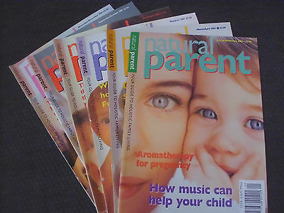 Natural Parent Magazine 2001 (6 Issues) January - December